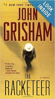 """The Racketeer"" by John Grisham. I haven't read Grisham for a while, and am so glad I did!!  This novel was a classic Grisham page-turner!  I feel like I've just spent 3 days with a good friend!"