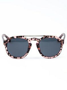 Shop now: Dries Van Noten Round Frame Sunglasses