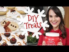Click here to learn how to make 3 adorable Christmas treats with Nerdy Nummies!