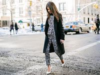Street Style From Fashion Week, Day Five: Prints! Cute Coats! - Crowd Control - Racked NY