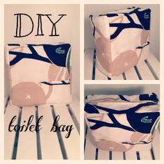 DIY toilet bag