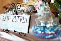 Vintage Candy Buffet Sign Pour Vous For You. by OurHobbyToYourHome,