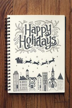 She just posted some hand lettered sketchbook pages over on her blog...