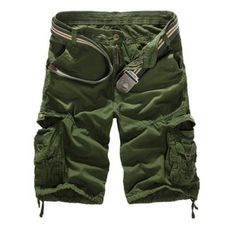 Shorts Man New Summer Bermuda Fashion Men Shorts Camouflage Multi-pocket Homme Shorts Plus Size pantalones cortos Mode Camouflage, Camouflage Cargo Pants, Camouflage Fashion, Military Camouflage, Mens Camo Shorts, Military Shorts, Loose Fit, Work Trousers, Outfits