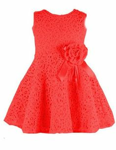 Elegent Kids Toddlers Girls Princess Party Flower Solid Lace Formal Dress (100 (  3-4 Years ), red) TRURENDI http://www.amazon.com/dp/B00ISM8FIG/ref=cm_sw_r_pi_dp_72lNtb1EJB9B8D89