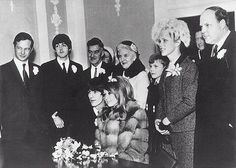 George Harrison married Patti Boyd on January 21, 1966 in a Surrey, South England.