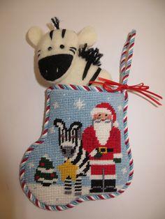 Zebra Minisock from Kathy Schenkel designs