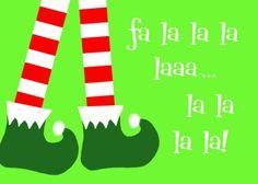 Fa la la la la la la la la!!!    Take the Side Street: Fa-la-la-la-la printables