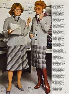 Neue Mode Chic für Vollschlanke H/W 1976