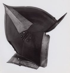 Southern German    Burgonet, c. 1520    Steel  H. 23.9 cm (9 3/8 in.)    George F. Harding Collection, 1982.2502