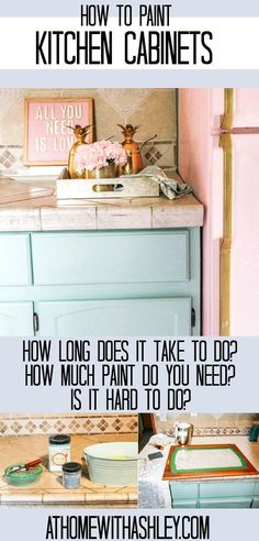 how to paint kitchen