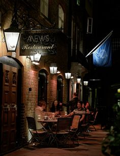 Mews of Mayfair, hidden gem. Great for drinks in the summer