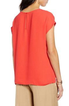 Halogen® Cap Sleeve Blouse (Regular & Petite) | Nordstrom Petite Size, Cap Sleeves, Fit Women, Nordstrom, Tunic Tops, Style, Fashion, Pants, Blouses
