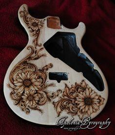 Guitar Pyrography...