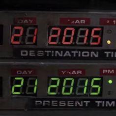 A data REAL da viagem no tempo do De Volta para o Futuro finalmente chegou