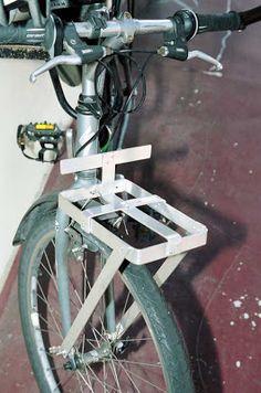 VeloMania: I Build A Front Bike Rack | Mr Trail Safety Speaks!