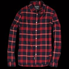 UNIONMADE - Woolrich John Rich & Bros. - Hopsack William Shirt in Blanket Red