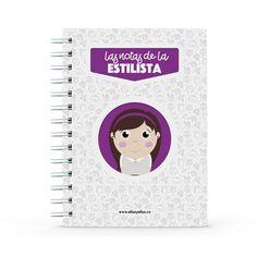 Cuaderno - Las notas de la estilista, encuentra este producto en nuestra tienda online y personalízalo con un nombre. Office Supplies, Notebook, Personal Stylist, Notebooks, Report Cards, Store, Style, The Notebook, Exercise Book