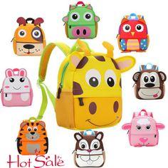 6030e55102d0 Animal Children Backpack Kids Backpack Infant School Bags for Kindergarten Schoolbags  Girls Boys School bags Satchel Mochila.