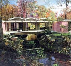 """Mid-Century Modern """"Bridge House"""" By John Johansen"""