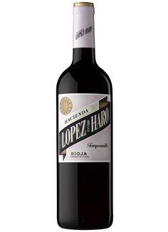 Vino Hacienda López de Haro Tempranillo D.O. Rioja #taninotanino #vinosmaximum