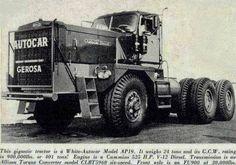Autocar Heavy Duty Trucks, Big Rig Trucks, Heavy Truck, Tow Truck, Semi Trucks, Cool Trucks, Custom Big Rigs, Custom Trucks, Hors Route
