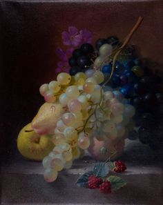 ARTFINDER: Grapes by Alexei Antonov - This is my routine work to explore the beauty of the grape ... this is something that I can learn indefinitely