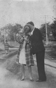 concealed kiss 1920s .:: THE SURFING BEATNIK - Thought-Dreams by Abraham Ahmed ::.