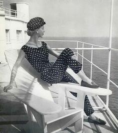 Jean Patou summer 1956
