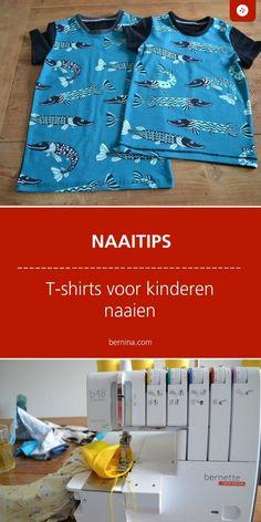 T-shirts, t-shirts en nog eens t-shirts Sewing Techniques, Sewing Clothes, T Shirts, Sewing Patterns, About Me Blog, Kids, Dressmaking, Stitching Patterns, Children