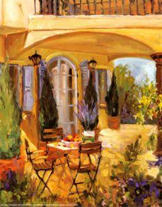 Allayn Stevens painting