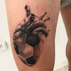Small Dope Tattoos, Cool Forearm Tattoos, Body Art Tattoos, Tattoos For Guys, Soccer Tattoos, Football Tattoo, Tattoo Sleeve Designs, Tattoo Designs Men, Sleeve Tattoos