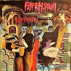 Flip Phillips: Flipenstein, label Progressive (1981)Design: David Stone Martin.