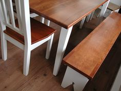 Modern Country Furniture - Shaker Collection, Bench and Dining Table