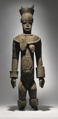 Urhobo Female Ancestor Figure, Nigeria | lot | Sotheby's