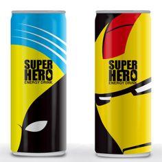 superhero energy drink : batman
