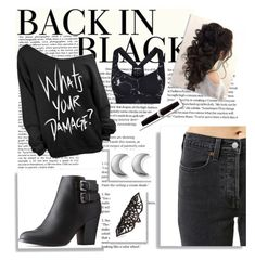 Designer Clothes, Shoes & Bags for Women Back To Black, Charlotte Russe, Steve Madden, Label, Adidas, Shoe Bag, Polyvore, How To Make, Stuff To Buy