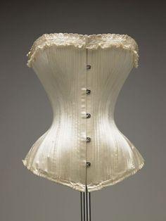 mariage corset 1898 De la De Young Museum