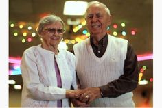 Arthur George, 90, and wife Joyce, 89, continue to enjoy their lifelong passion of roller skating, and show few signs of slowing down. Video...
