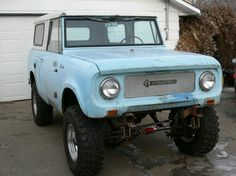 ▒ '64 Scout 80 from Canada. Nice ride, eh? ▒