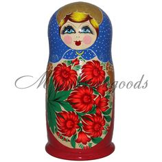 Traditional Russian doll 69 cm 11 kg! 50 pc Handpainted babushka doll Matryoshka