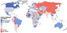 Mapa sobre el trato de la población a sus turistas