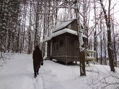 Coolest Cabins: Cottage style cabin, Michigan