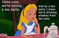Adult Tea Party @Just Me