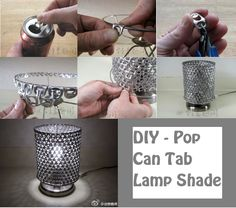 Pop Can Tab Lampshade