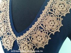 Crocheted collar: pattern