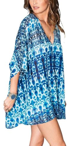 Show Me Your Mumu Printed Swing V Neck Coverup New Tunic. Free shipping and guaranteed authenticity on Show Me Your Mumu Printed Swing V Neck Coverup New TunicShow Me Your MuMu    Printed Swing Tunic      Size...