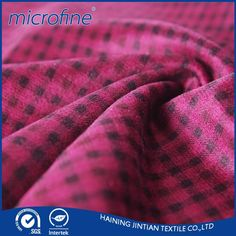 Super soft printing fabric for pillow cover