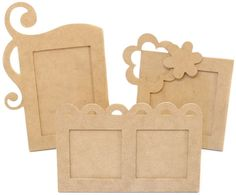 Beyond The Page Mdf Funky Picture Frames Pack  #BeyondthePage