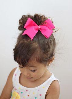 Fancy high bun messy up do #hairstyle  #hairstylesforkids #kids  http://www.fyglia.com/